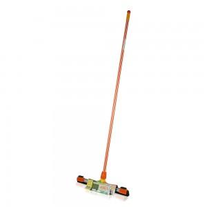 Kress-Kleen-45-cm-Floor-Wiper-with-Cloth-Holders-Orange_Hero
