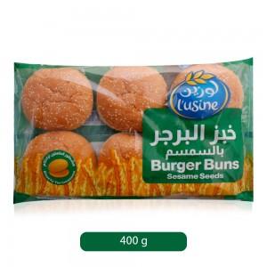 L'-Usine-Burger-Bun-with-Sesame-Seeds-400-g_Hero