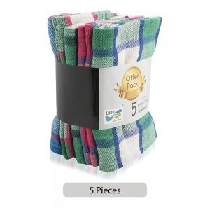 Leen-P103-Cotton-Kitchen-Towels-Multicolor-5-Pieces_Hero