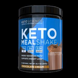 Ketogenic Meal Shake Natural Chocolate Flavor 539 Gm