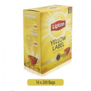 Lipton Yellow Label Tea Bags, 16 x 200 Bags