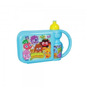 Moshi Monster lunch box with water bottle