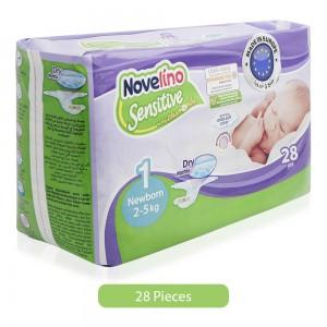Novelino-Sensitive-Size-1-Chamomile-Baby-Diapers-28-Pieces-Newborn_Hero