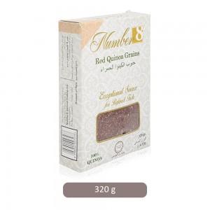 Number 8 Red Quinoa Grains - 320 g