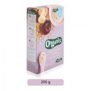 Organix 7 Month Banana & Plum Porridge - 200 g