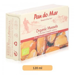 Pan Do Mar Mussels in Pickled Sauce - 115 g