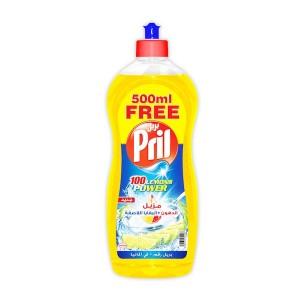 Pril Lemon Dishwashing Liquid - 1.5 liter