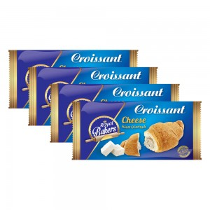 Royal Bakers Croissant Cheese - 4x55gm