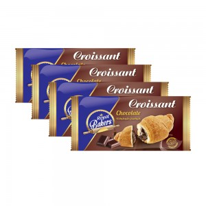 Royal Bakers Croissant Chocolate - 4x55gm