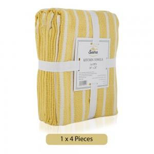 Saara-Kitchen-Towels-Mustard-4-Pieces_Hero