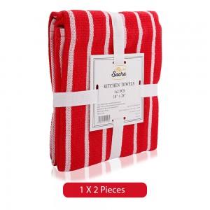 Saara-Red-Kitchen-Towel-2-Pieces_Hero
