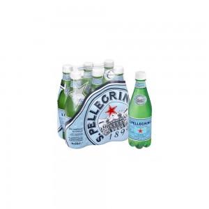 San Pellegrino Mineral Sparkling Water - 6 x 500 ml