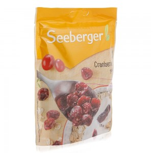 Seeberger Sweetened Dried Cranberries - 125 g