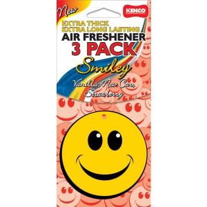 Kenco Air Freshener Smiley 3 Pack