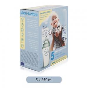 Steri-Bottle-Disposable-Baby-Bottle-5-250-ml-3-Month_Hero