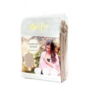 Bebitza - Textured Knit Nursing Cover - Taupe
