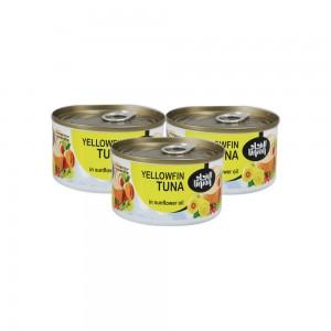 Unoin Yellow Fin Tuna In Sunflower Oil - 3x170gm