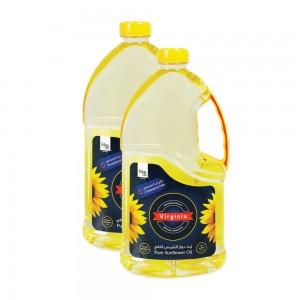 Virginia Pure Sunflower Oil 2x1.8 Ltr