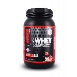 Muscle Core 100% Whey Platinum Std 2Lb Strawberry