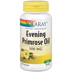 Solaray Evening Primrose Oil 500 mg, 90 Softgels