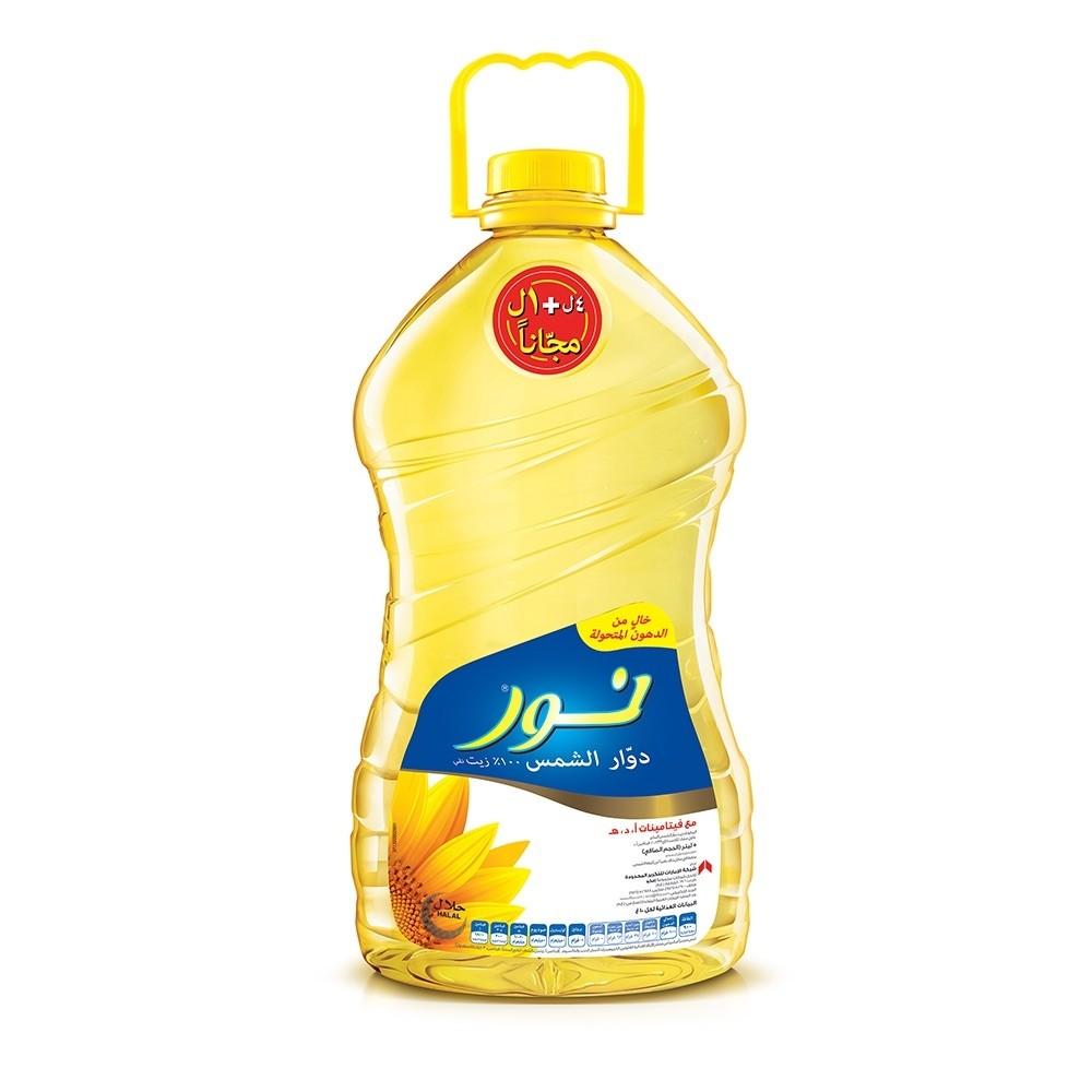 Noor Sunflower Oil, 5 ltr Price   Buy Online in Dubai, UAE ...