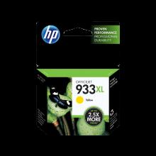HP 933XL High Yield Yellow Original Ink Cartridge (CN056AE-BGX)