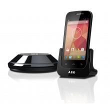 AEG Voxtel Smart 66 Multi-Media Dect Cordless Home Telephone With Touch Screen